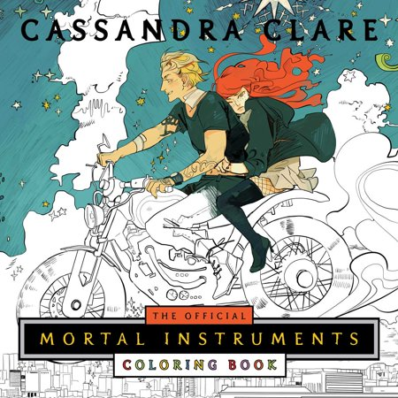 The Official Mortal Instruments Coloring Book ()