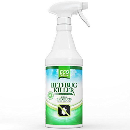 Eco Defense Bed Bug Killer, Natural Organic Formula Fastest, 16 - Organic Gardening Bugs