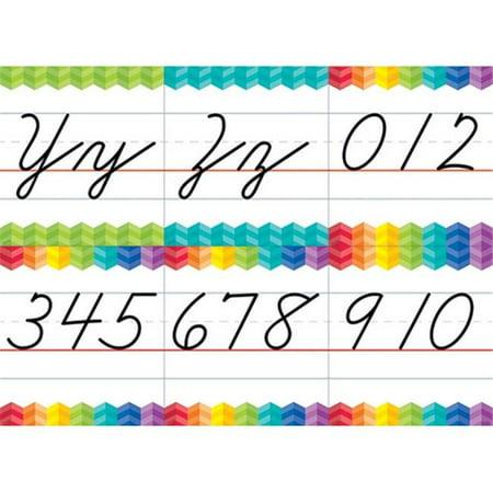 Creative Teaching Press CTP7056 Cursive Handwriting Alphabet Bulletin Board