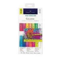 Faber-Castell Gelatos Color Set: 15 Colors