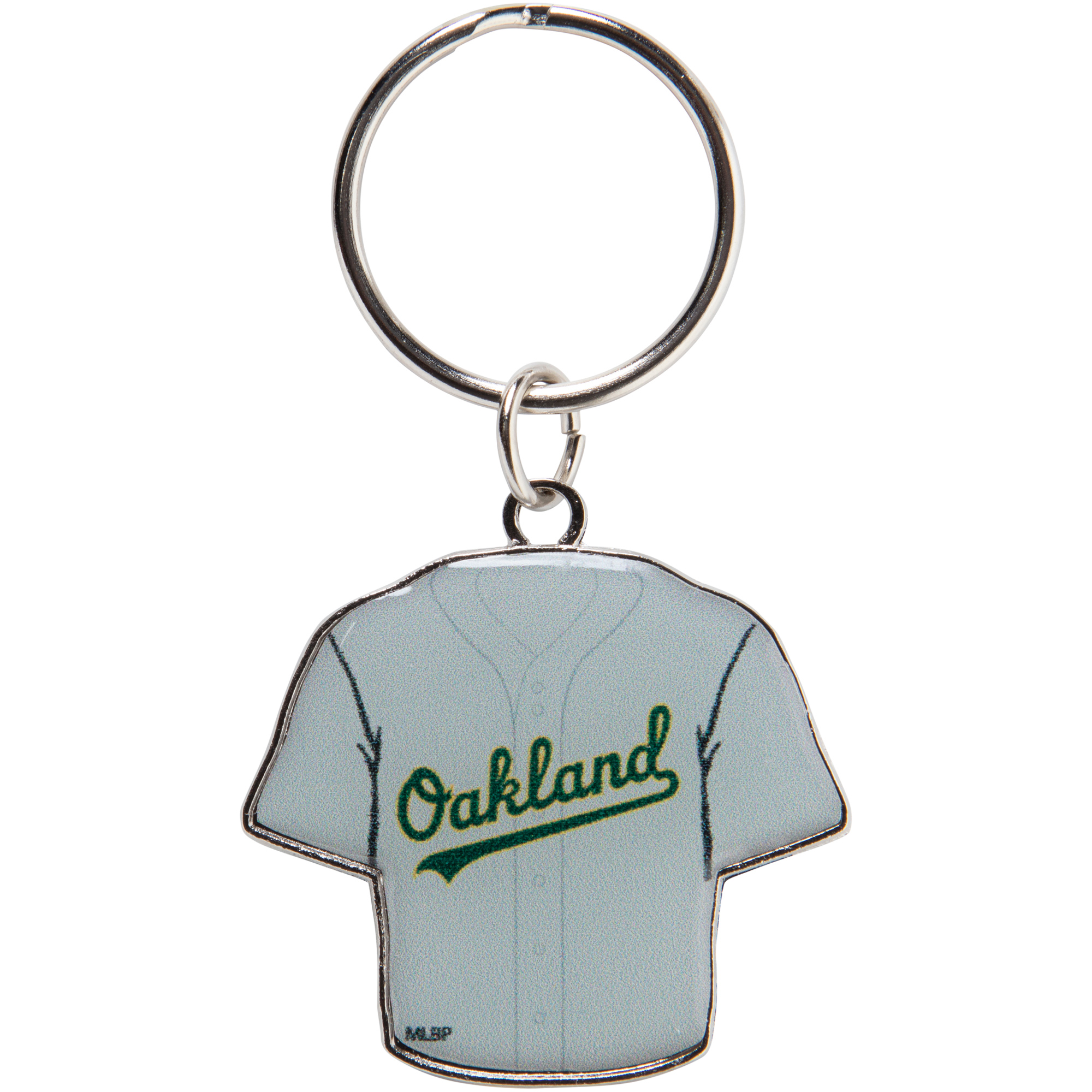 Oakland Athletics Reversible Home/Away Jersey Keychain - No Size