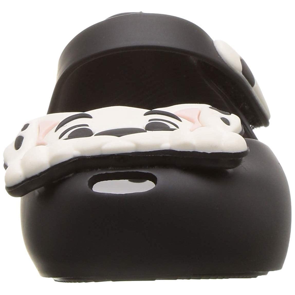 101 Dalmation Black//White Flats Toddler Mini Ultragirl Melissa 32468-51492