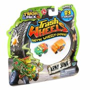 The Trash Pack Trash Wheels Army Junk Blister, 2 Pack
