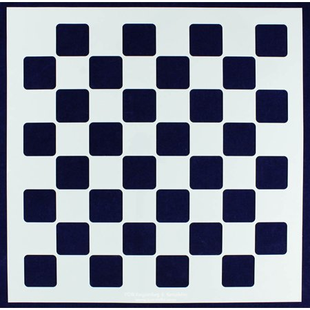 18' Stencil Sheets - Chess / Checkerboard Stencil -16