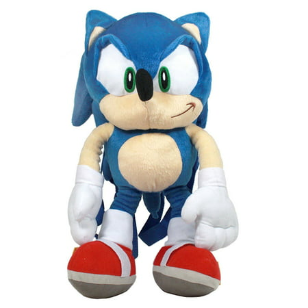 Sonic Accessory Innovations The Hedgehog 16 Plush Backpack (Backpack Accessory)