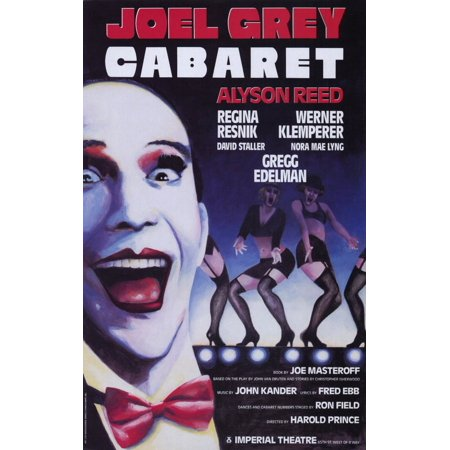 Cabaret  Broadway  11 X 17 Poster   Style A