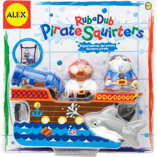 Alex - Rub a Dub Pirate Squirters Bath Toys