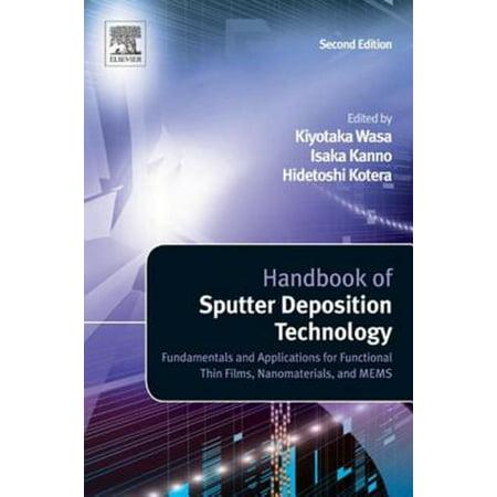 Handbook of Sputter Deposition Technology - eBook