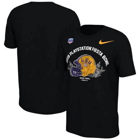 Fiesta Item Shop (LSU Tigers Nike Youth 2019 Fiesta Bowl Bound Helmet T-shirt -)