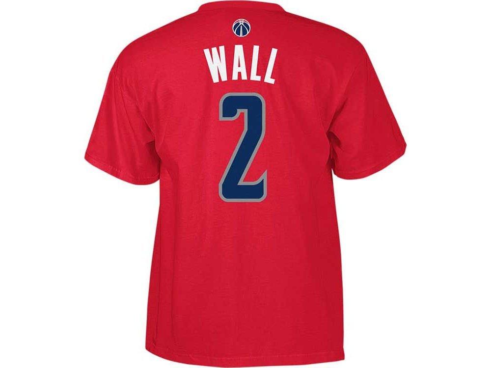 7f52accf012 ... usa washington wizards john wall adidas nba men player t shirt red xxl  cf517 7b09c