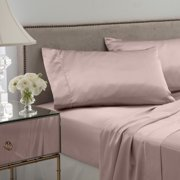 Best Satin Sheets - Seduction Satin Solid Queen Rose Gold Sheet Set Review