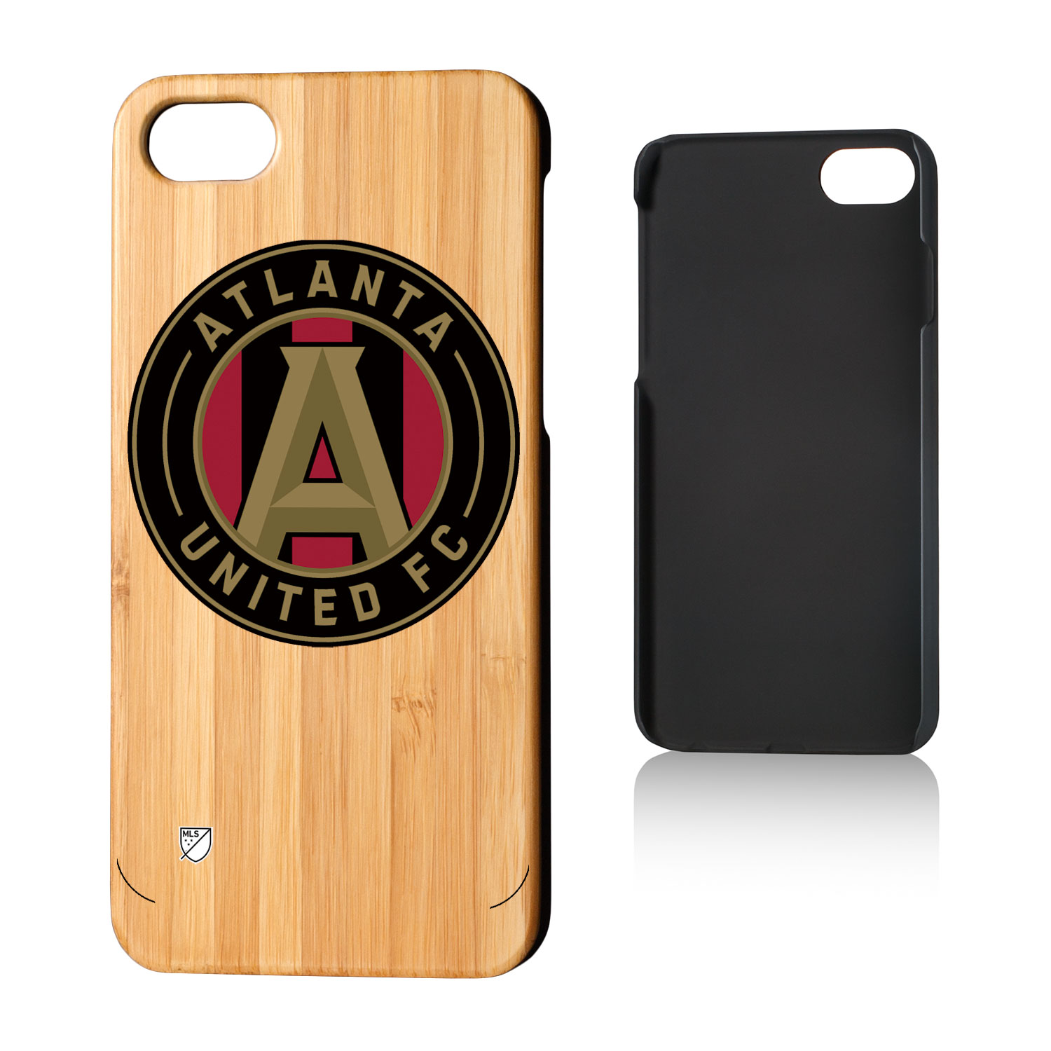 Atlanta United FC ATLUTD Insignia Bamboo Case for iPhone 8 / 7