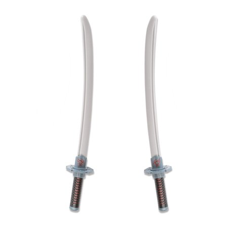 2PCS Toy Ninja Kit Ninja Sword Ninja Stars, Ninja Knife - Toy Ninja Sword