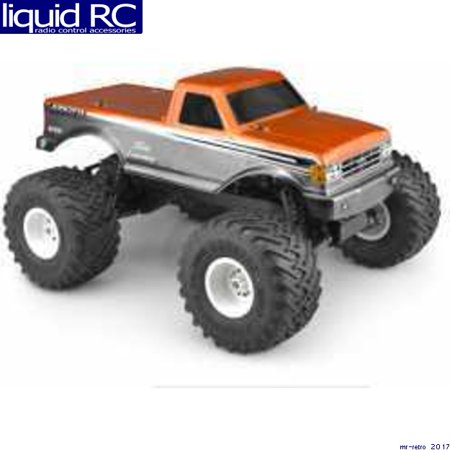 JConcepts 0377 1989 Ford F-250 Clear Body Racerback: Stampede ()
