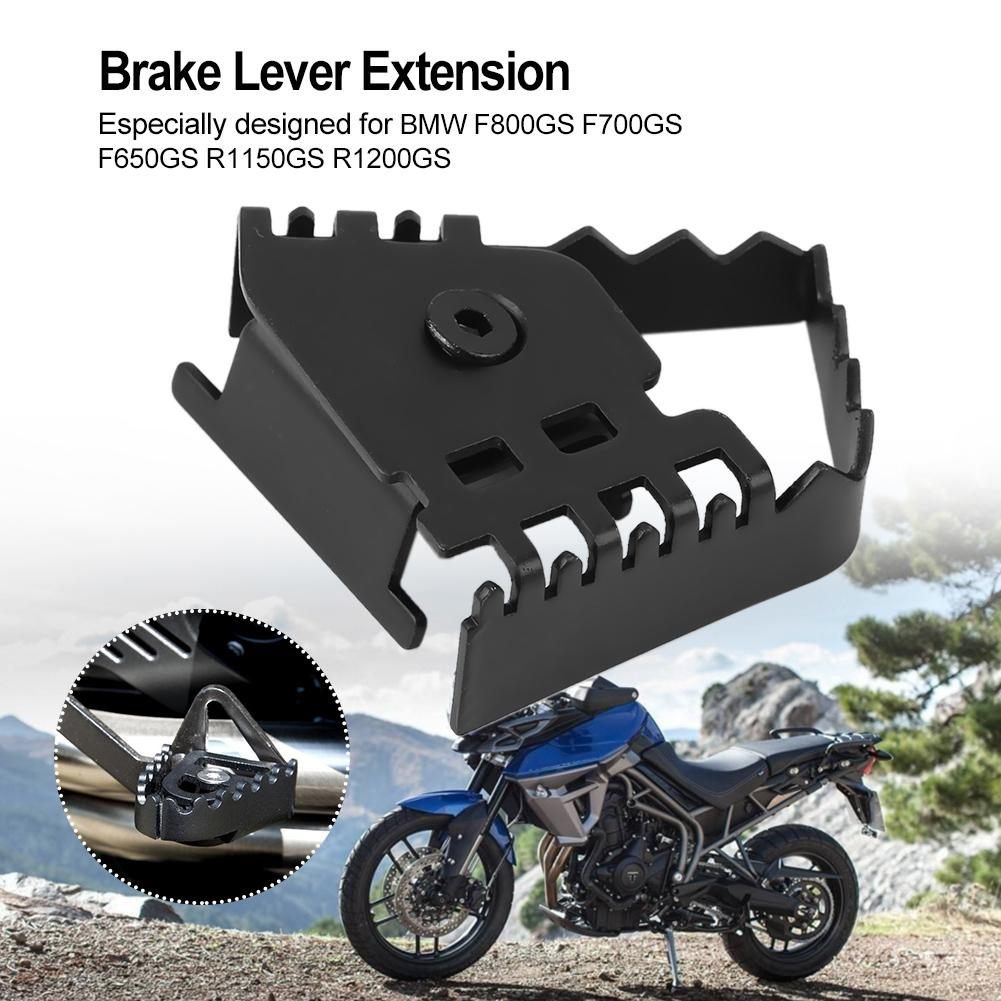 ADV 19-20 Moto Rear Foot Brake Lever Pedal Extension Enlarge Pad for B M W R1200GS ADV 13-18 R1250GS Artudatech Motorcycle Brake Lever Enlarge Extension Pedal