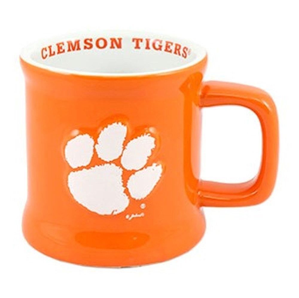 NCAA Offically Licensed Clemson Tigers 15oz Logo Relief Mug Cup