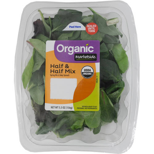 Marketside Organic Half & Half Mix Salad, 5.5 oz