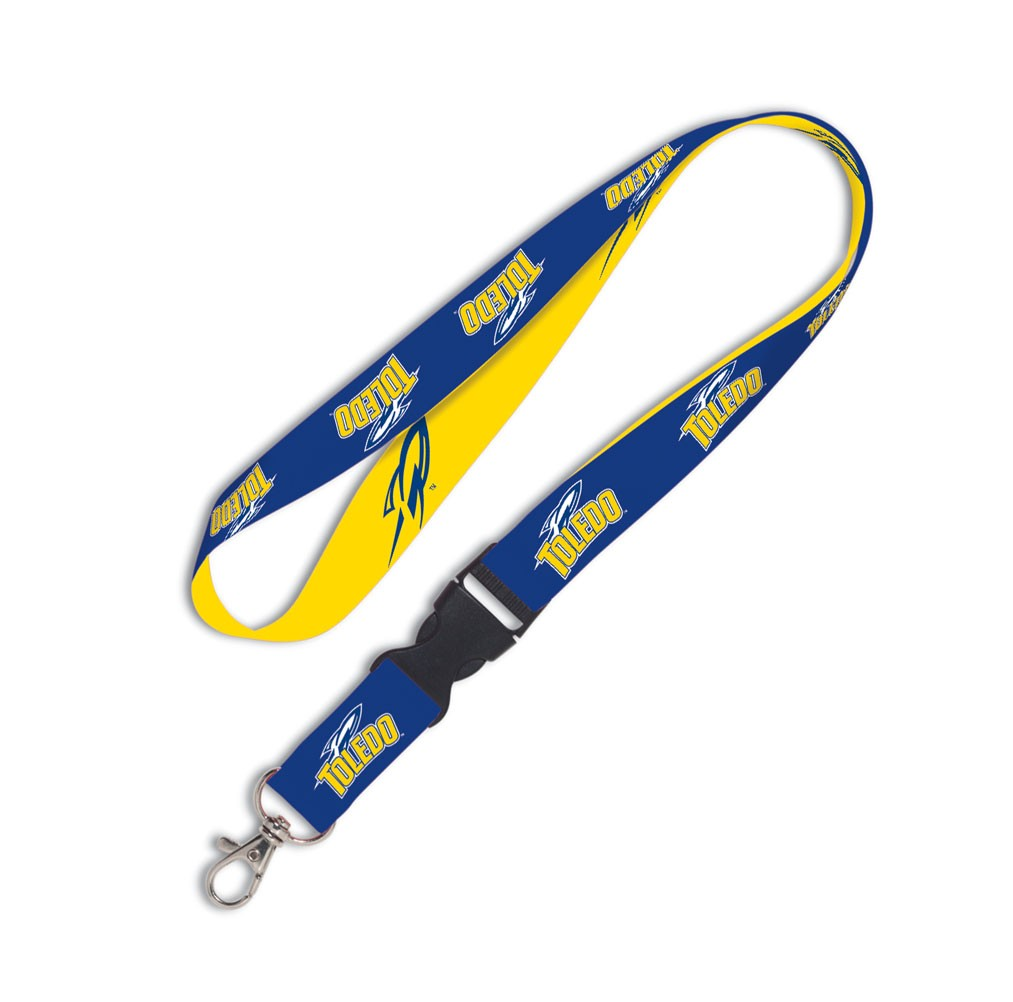 Toledo Rockets Official NCAA 20 inch  Lanyard Key Chain Keychain by Wincraft