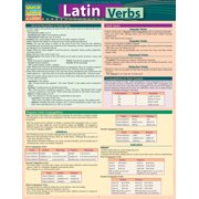 Latin Verbs : QuickStudy Laminated Reference Guide