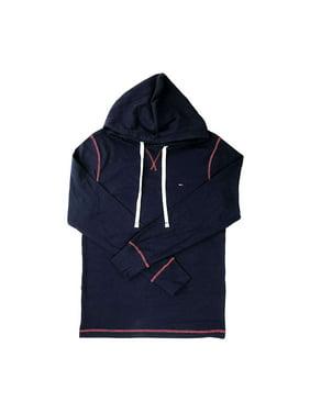 Tommy Hilfiger Mens Long Sleeve Heritage Ribbed Shirt Hoodie