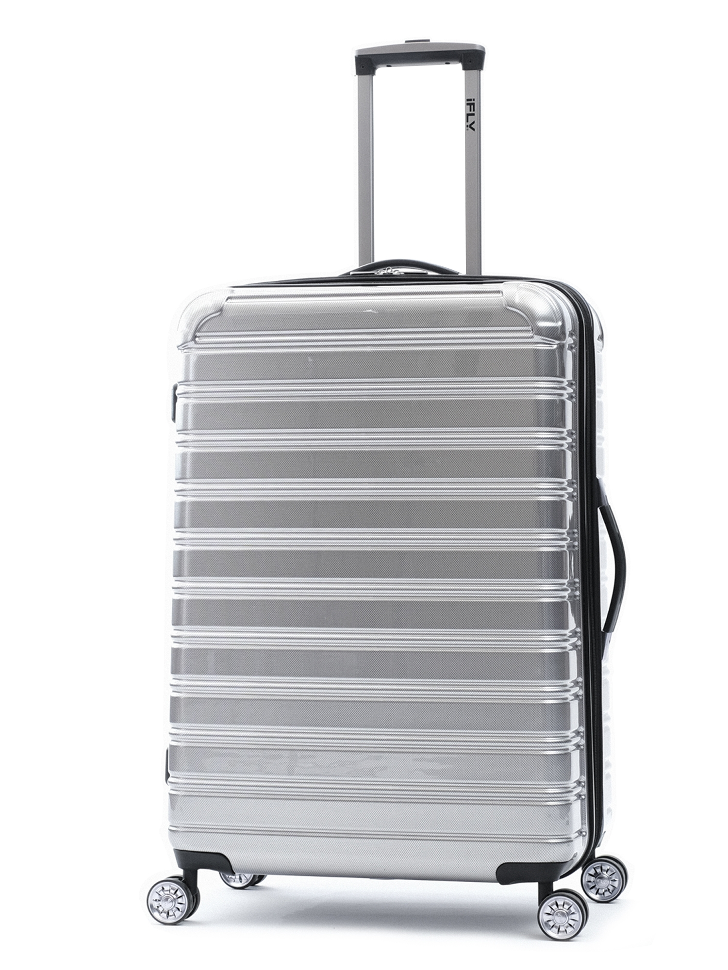 "iFLY Hard Sided Fibertech 28"" Checked Luggage"