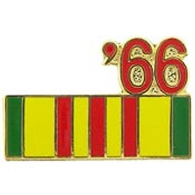 Vietnam Service Ribbon Pin (1966 VIETNAM SERVICE RIBBON LAPEL OR HAT PIN )