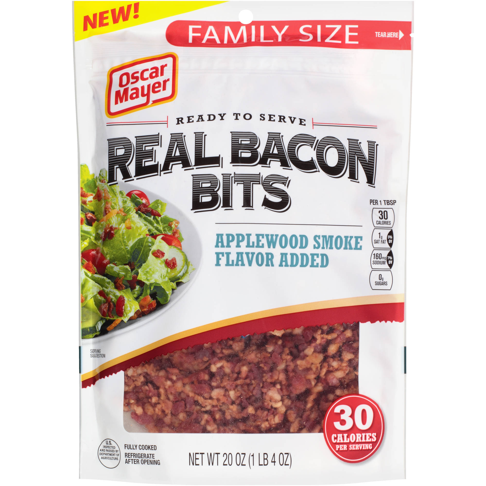 Oscar Mayer Real Bacon Bits, 20 oz