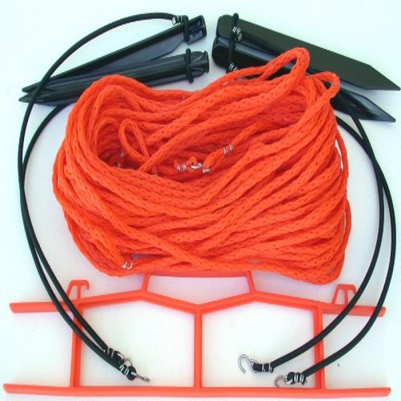 Home Court 25S Volleyball Boundary Rope, Orange, Size 30 x 60