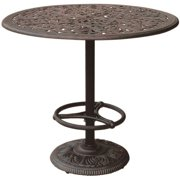 "Darlee Series 80 42"" Round Patio Pub Table in Antique Bronze by Darlee"