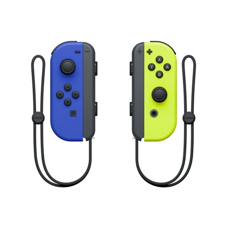 Nintendo Switch Joy-Con Pair, Neon Blue & Neon Yellow