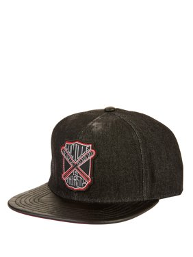 a3595264 Product Image AMC's The Walking Dead Denim Snapback Cap with Lucille Patch  and Faux Leather Flat Bill