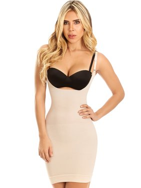 LT.Rose 21701 Colombian Slimming Dress Slip Butt Lifter Shapewear