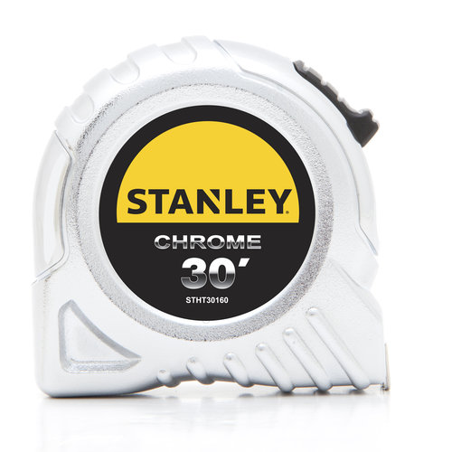 STANLEY STHT30160S 30' Chrome Tape Measure