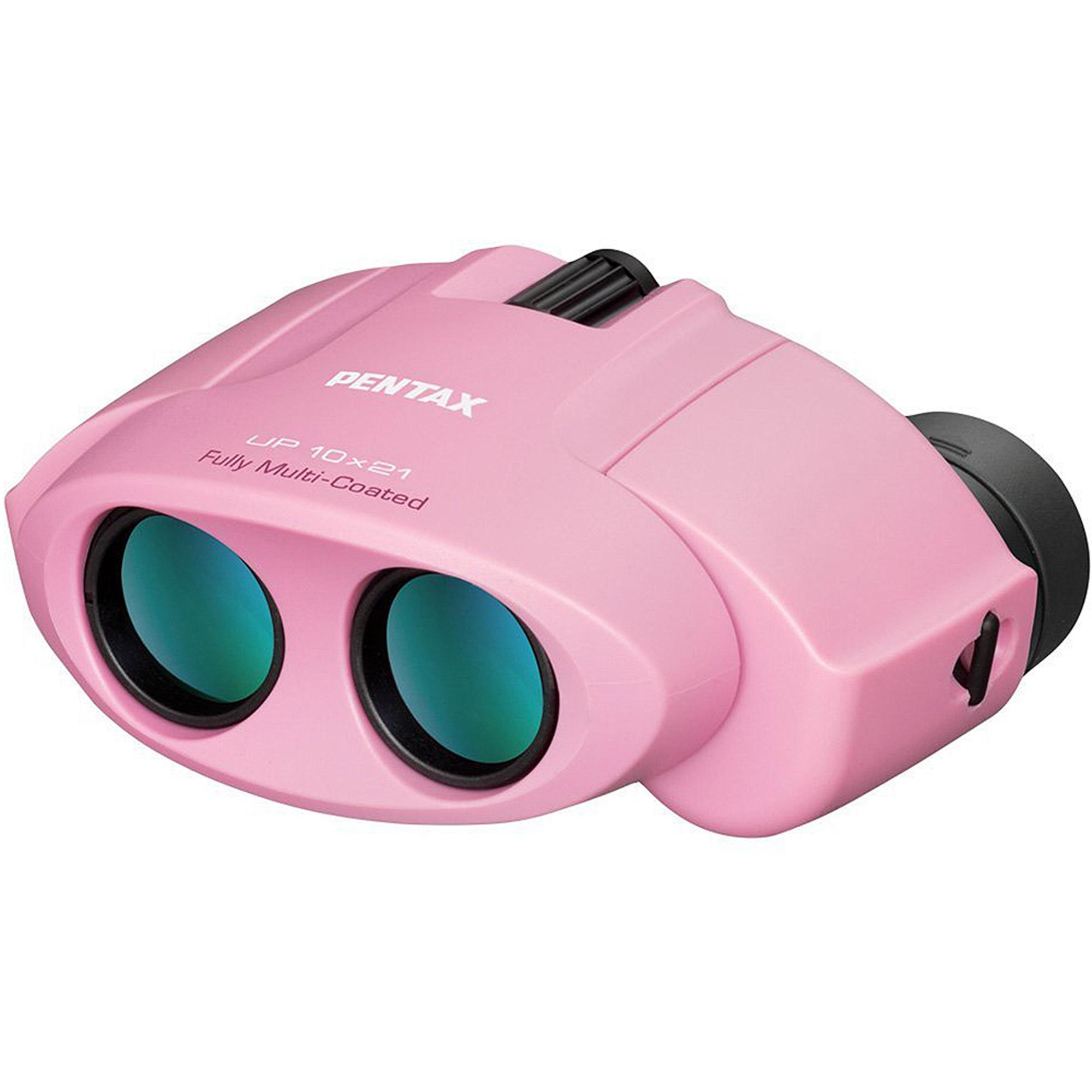 Deals PENTAX UP 10×21 Binocular, Pink Before Special Offer Ends
