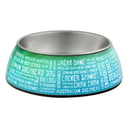 Loving Pets Milano Breeds Of The World Bowl Small, 1.0 CT