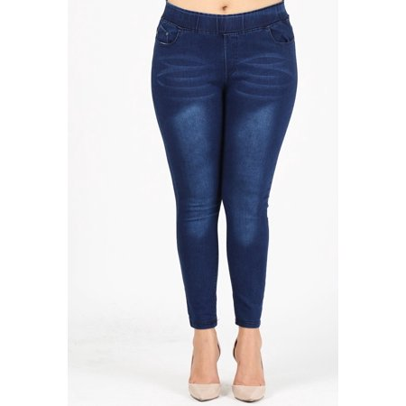 Heavyweight Leggings (Love Sweet jeans waist-huggings plus size jeggings)