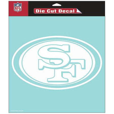 San Francisco 49ers Die-cut Decal - 8