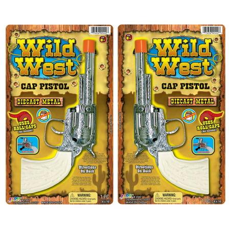 Ja-Ru, Wild West, Diecast Metal Cap Pistol - 1
