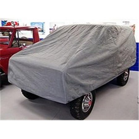 Custom Vehicle Car Cover, 4 Layer Grey, Ford Bronco (Ford Bronco Dash Cover)