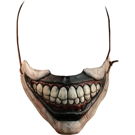 Twisty The Clown Mouth American Horror Story Mask Adult Halloween Accessory (Mouth Mask Halloween)