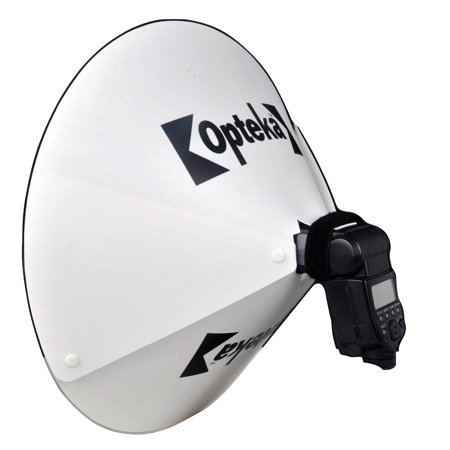 Opteka BD-10 Studio 23-Inch DSLR Digital Camera Dish Dome Flash Portrait Shadow Reflector Diffuser Diverter Studio Light for Bower SFD35 SFD35N SFD290 SFD450 SFD450N SFD680 SFD680C SFD728 SFD728N