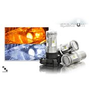 Bimmian WTSAAA6W2 Weisslicht LED Turn Signal Bulbs Vehicle, Pair Of H6w Ba X 9s Style Spektrum Bulbs - White
