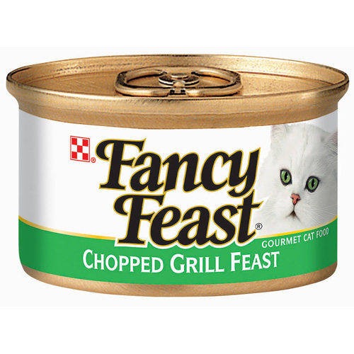 Purina Fancy Feast Classic Chopped Grill Feast Cat Food 3 oz. Can
