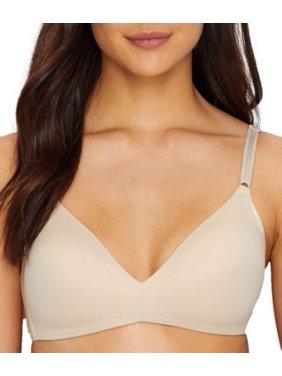 Warner's Womens No Side Effects Wire-Free T-Shirt Bra Style-1056