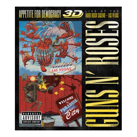 GUNS N ROSES-APPETITE FOR DEMOCRACY-LIVE HARD ROCK CASINO-LAS VEG(BLU-RAY) - Passions Hard Rock Halloween