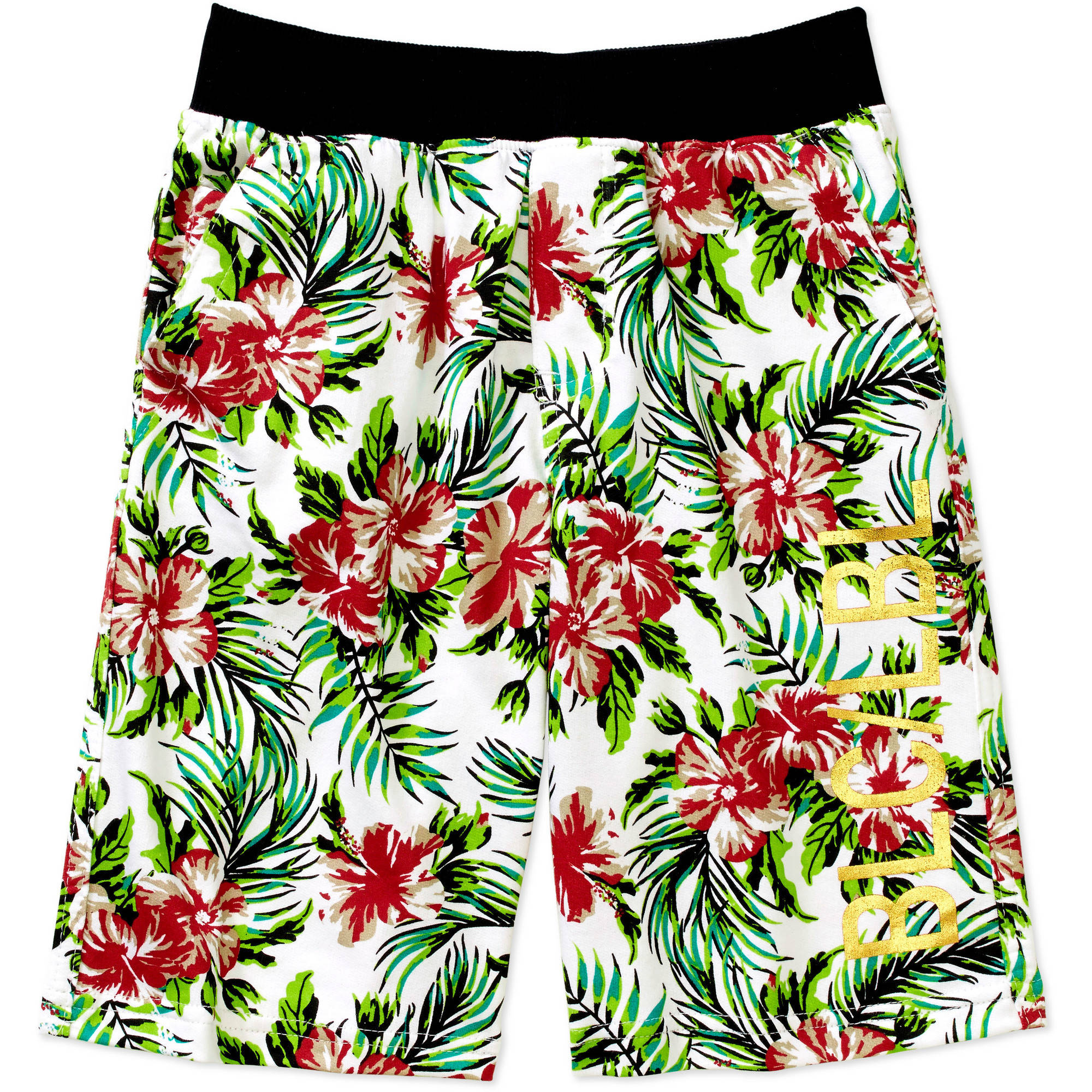 Boys Printed French Terry Short
