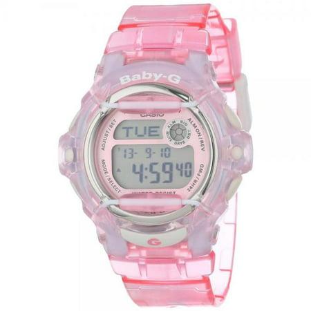 - Women's BG169R-4 Baby-G Pink Whale Digital Sport Watch