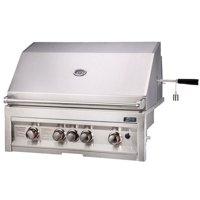 Sunstone 34 Inch Propane Gas Grill with IR Rotisserie