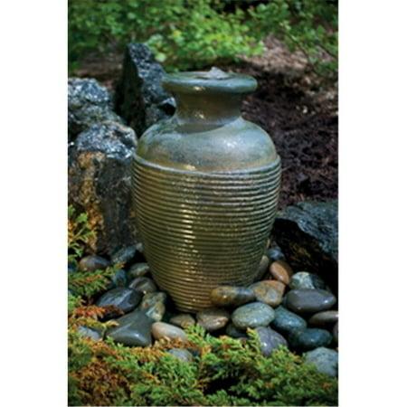 - Aquascape  Amphora Vase - Green Slate