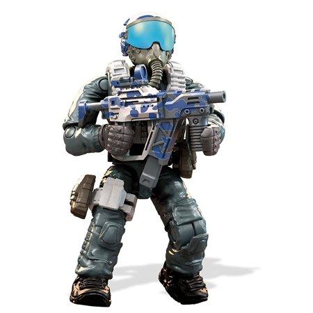 Mega Construx Call of Duty Jet Pilot Construction SetFigure comes with  detachable armor, accessories, and flight helmet with transparent visor By  Mega